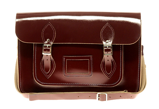 Besace vernie Cambridge Satchel Company