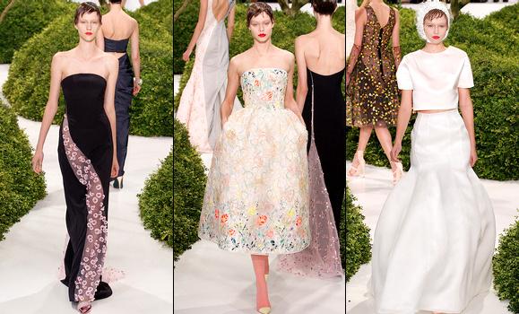 Défilé Dior Haute Couture 2013