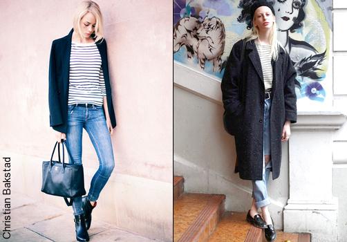 Marini re comment la porter tendances de mode - Que porter avec un pantalon bleu marine ...