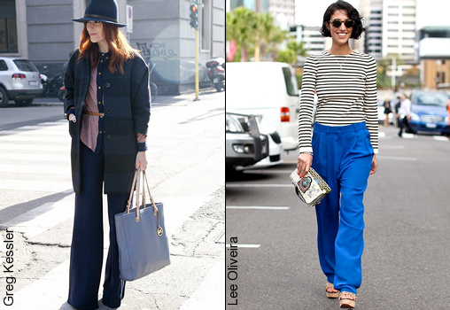 Pantalon large comment le porter tendances de mode - Comment porter un pull oversize ...