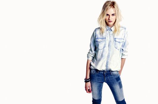 Chemise en jean H&M