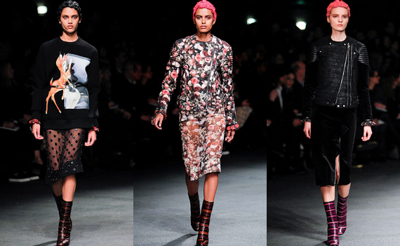 D�fil� Givenchy 2014