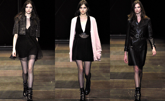 D�fil� Saint Laurent 2014