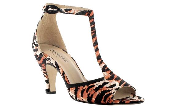 Sandales tigrées Repetto