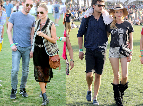 Kate Bosworth & Diane Kruger (Coachella 2013)
