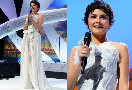 Audrey Tautou à Cannes