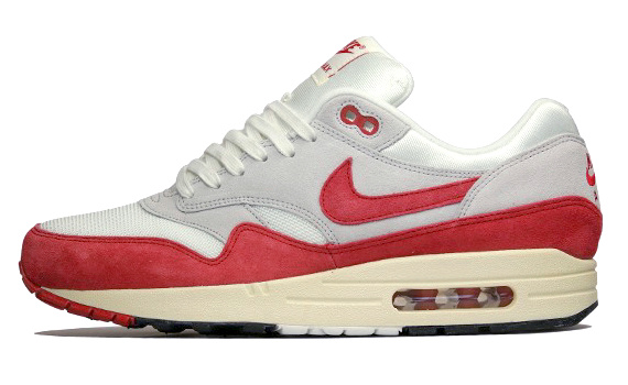 air max one rouge blanc