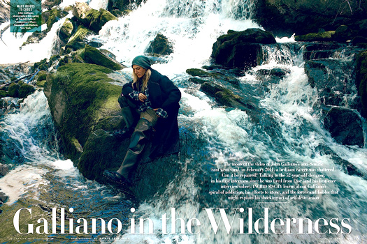 John Galliano - Vanity Fair