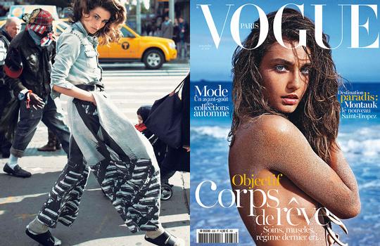 Andreea Diaconu pour Vogue