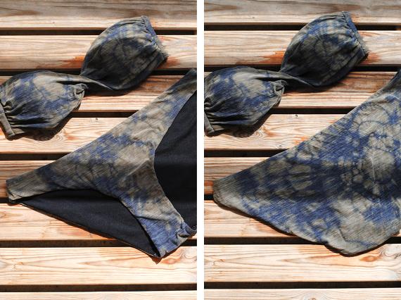 Maillot de bain tie & dye - Résultat