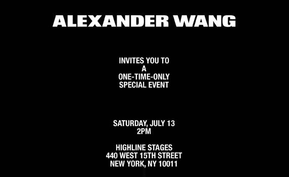 Alexander Wang - Undisclosed event