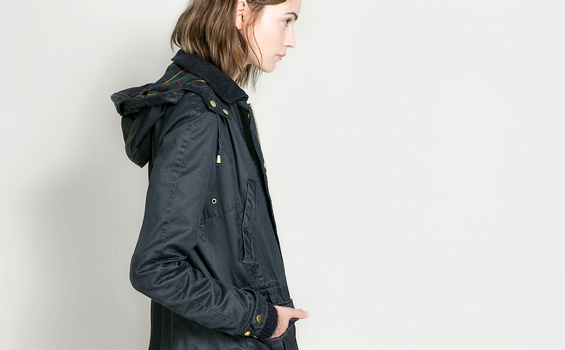 Veste Barbour Zara