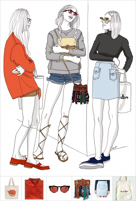 Illustration Isabelle Oziol de Pignol