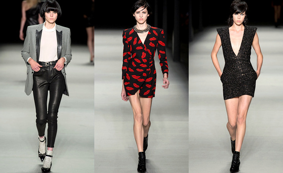 Défilé Saint Laurent 2014
