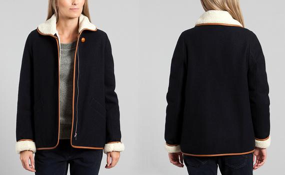 Manteau en shearling Sessun