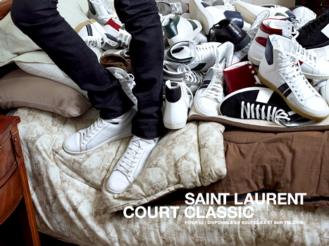 Les Stan Smith Saint Laurent Paris