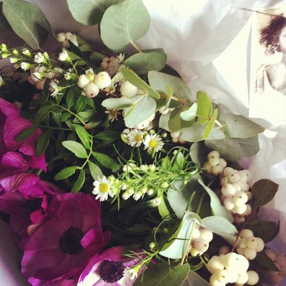 Bouquet de remerciement d'Emma François