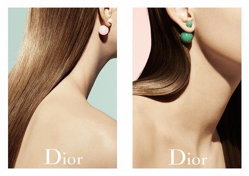 Boucles d'oreilles tribales Dior