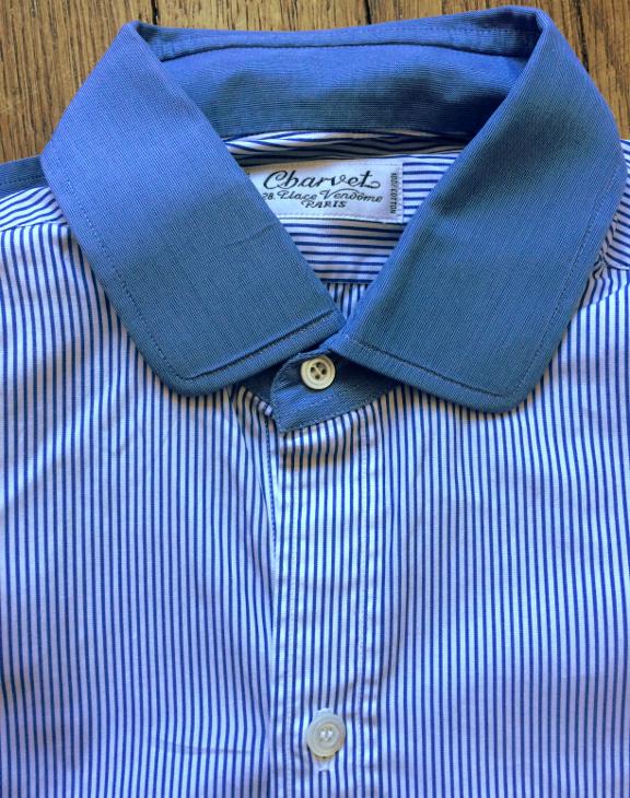 Ma chemise Charvet