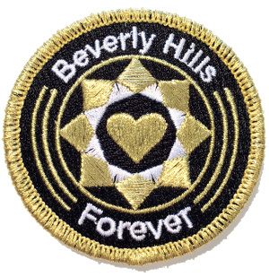 Ecusson Beverly Hills Forever