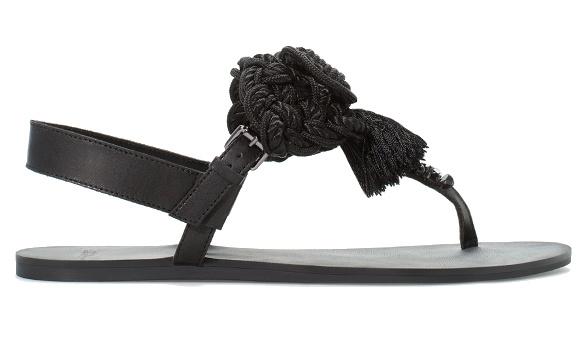 Sandales en cuir Zara
