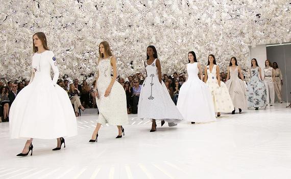 D�fil� Dior - Haute Couture automne/hiver 2014-2015