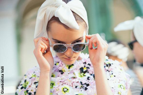 D�fil� haute couture Giambatista Valli
