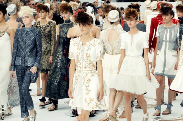 D�fil� haute couture Chanel