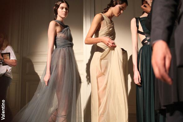 D�fil� haute couture Valentino