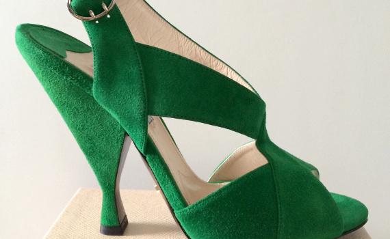 Autopsie d'un shopping #3 : Sandales vertes Prada