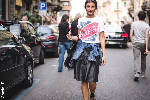 Street style Automne/hiver 2014-2015