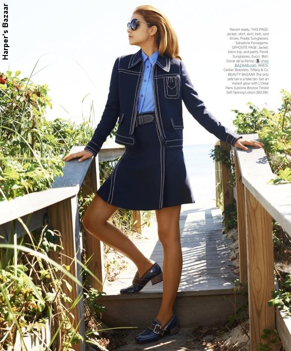 Série mode Harper's Bazaar