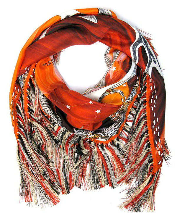 Foulard Forget Me Not