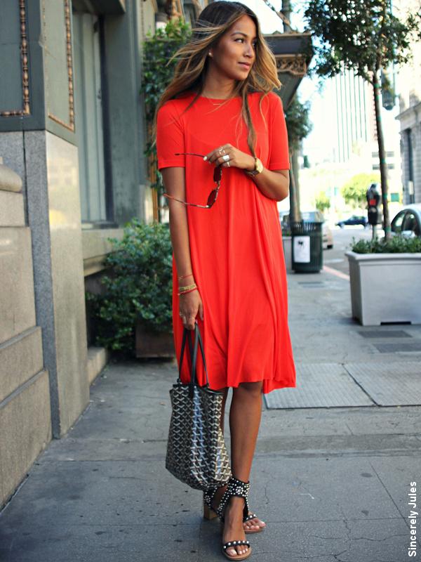 Pour choisir une robe robe rouge avec quoi la porter - Avec quoi porter une robe bleu marine ...