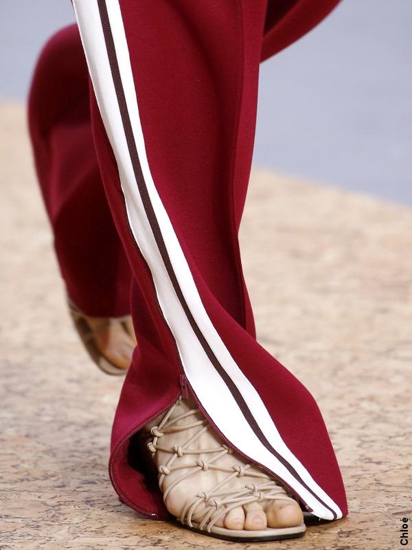 Pantalon à bandes Chloé