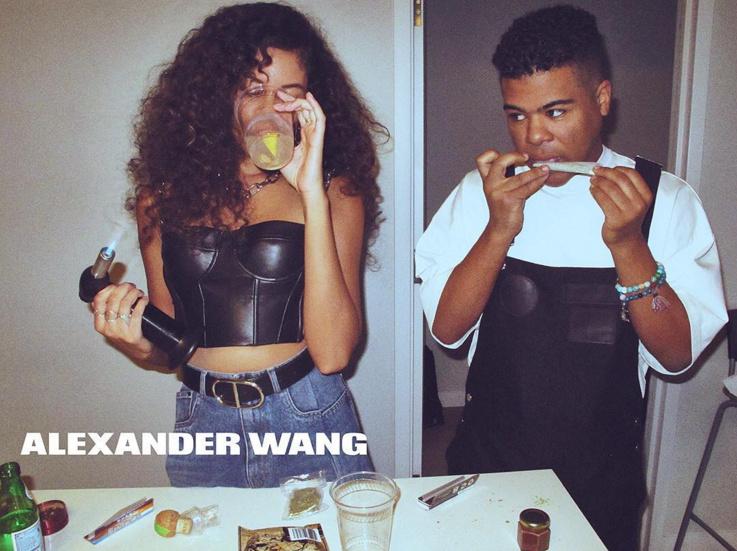 Campagne Alexander Wang printemps �t� 2016