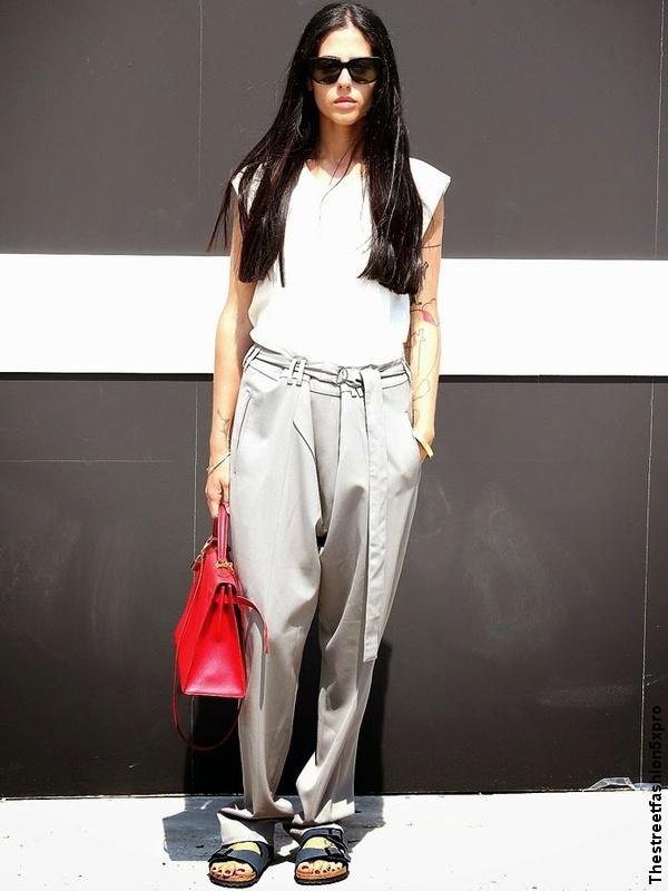 Gilda Ambrosio - Pantalon + top sans manches