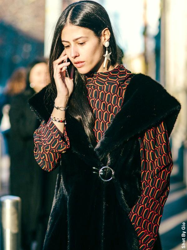 Gilda Ambrosio - Manteau en fourrure