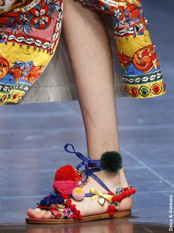 Sandales Dolce & Gabbana
