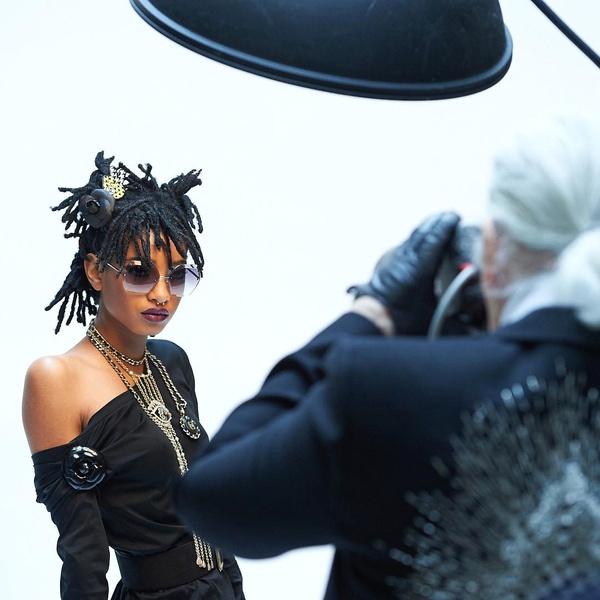 Willow Smith par Karl Lagerfeld