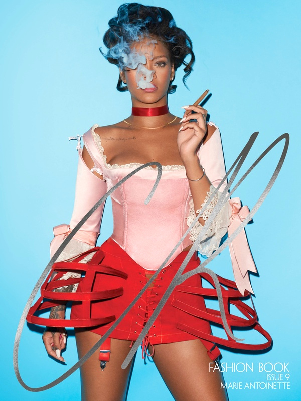 CR Fashion Book - Rihanna