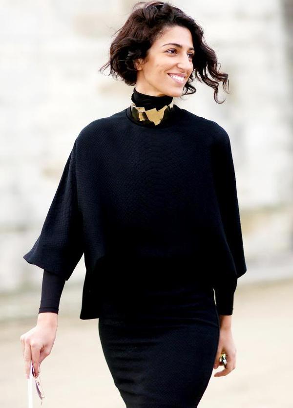 Yasmin Sewell - Total look noir