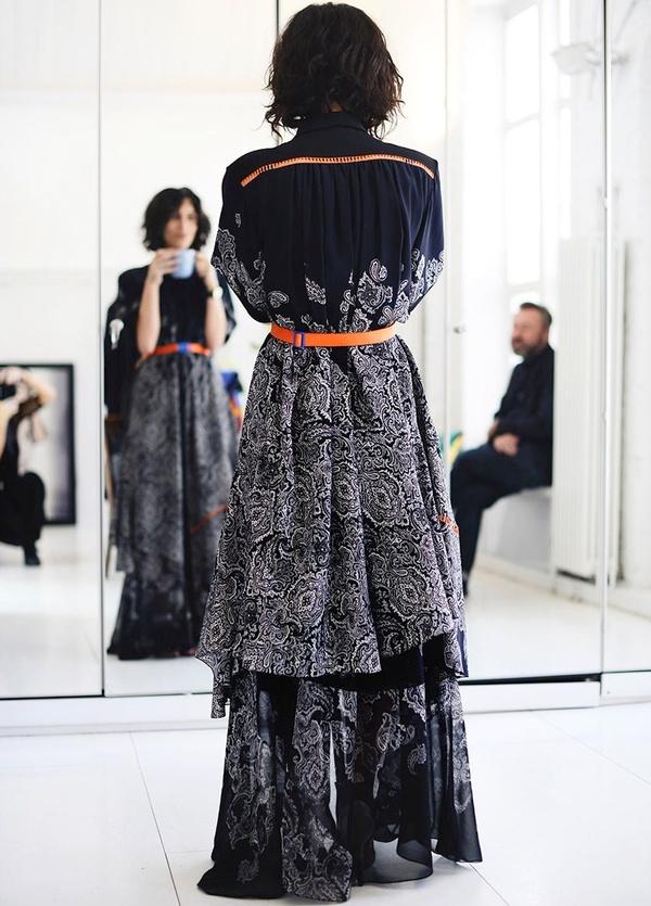 Yasmin Sewell - Robe longue brodée