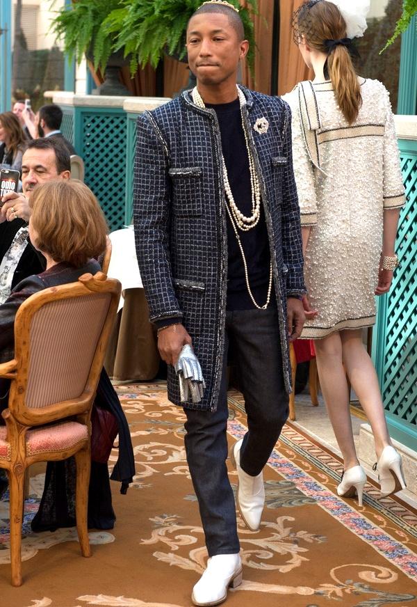 Pharrell Williams - Défilé Chanel Métiers d'Art 2017