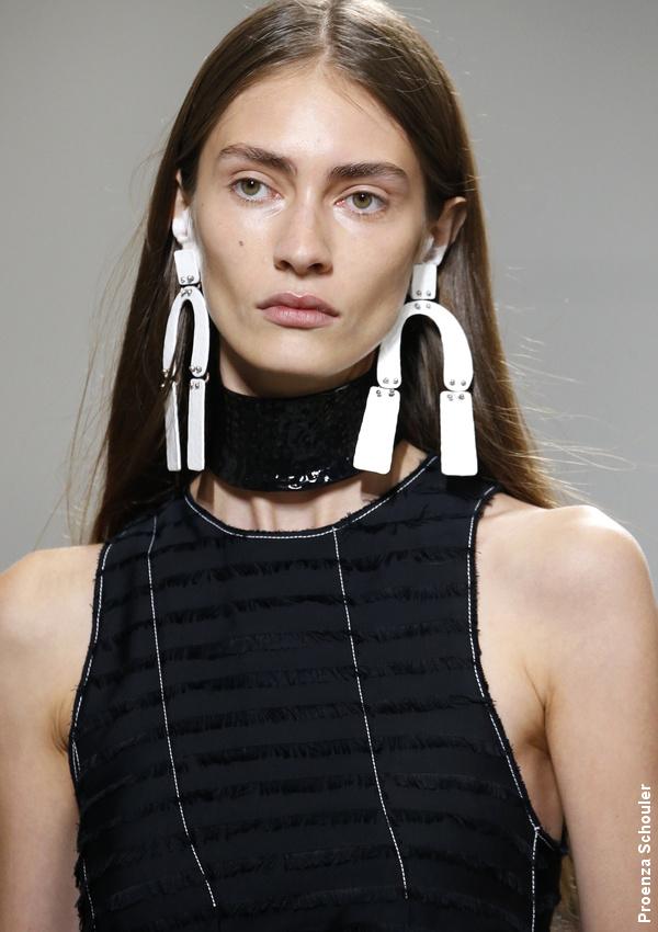 Boucles d'oreilles Proenza Schouler