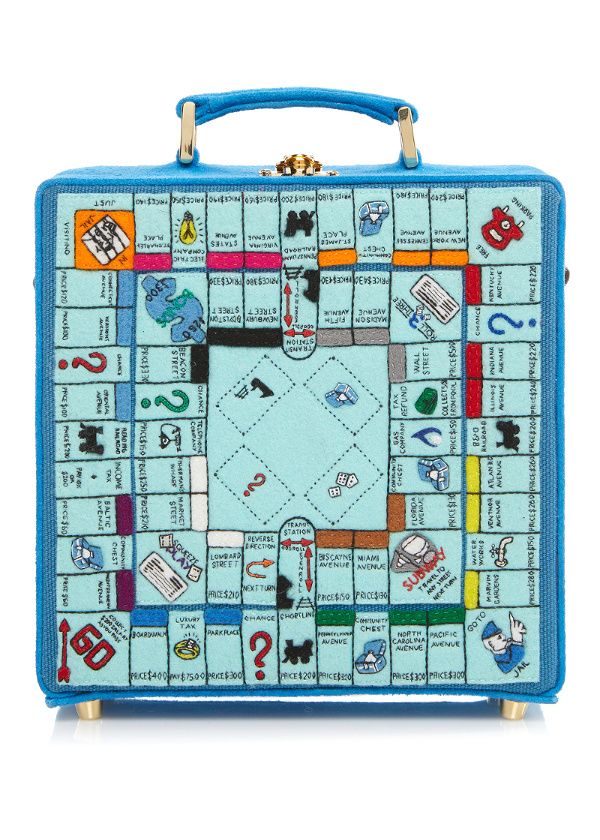Olympia Le Tan Paris Game Board Box Bag