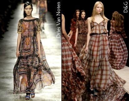 La robe longue d'hiver