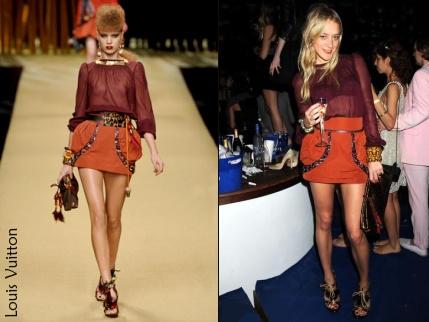 Chloë Sevigny en Louis Vuitton