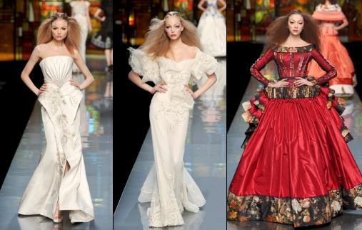 D�fil� Dior - Haute Couture printemps/�t� 2009