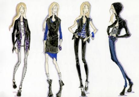 Hilary Duff pour DKNY Jeans